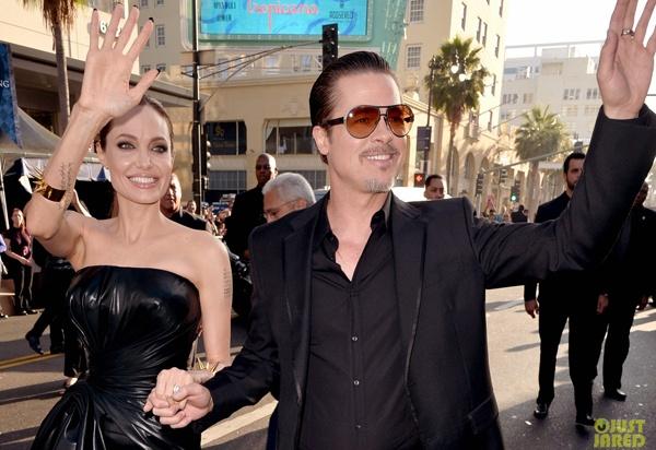 Brad Pitt bi phong vien nguoi Ukraina dam vao mat hinh anh