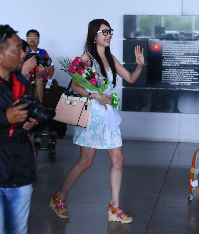 Helen Thanh Dao khoe giac mo Anh hau Dai Loan voi fan Viet hinh anh 1