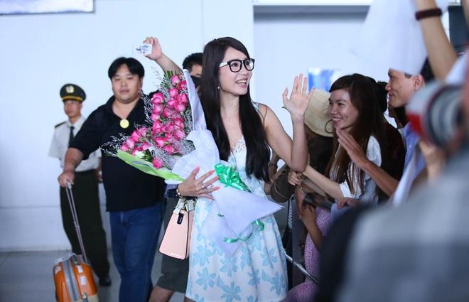 Helen Thanh Dao khoe giac mo Anh hau Dai Loan voi fan Viet hinh anh 2