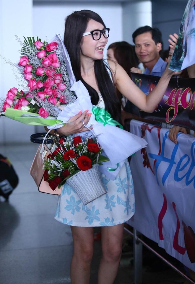 Helen Thanh Dao khoe giac mo Anh hau Dai Loan voi fan Viet hinh anh 4