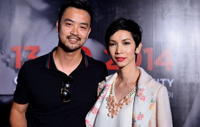 Quang Vinh mac banh bao di xem show thoi trang o Ha Noi hinh anh 6