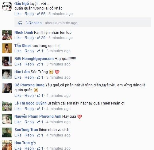 Thien Nhan manh dan nam tay hot boy mat hi tren san khau hinh anh 19