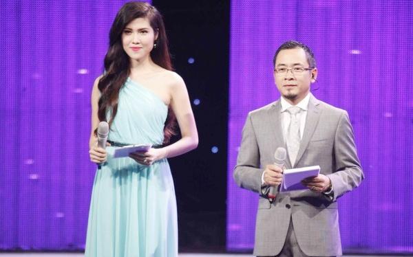 MC Hoa khoi Ao dai ngung dan sau khi bi che 'tham hoa' hinh anh