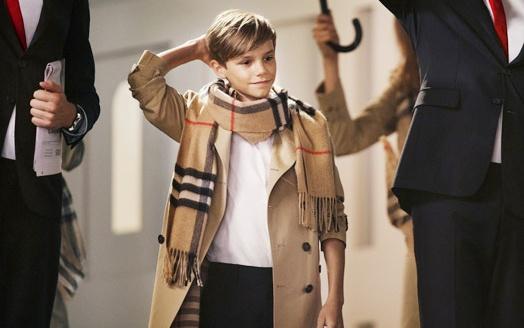 Con trai David Beckham duoc tra hon 1 ty de lam nguoi mau hinh anh