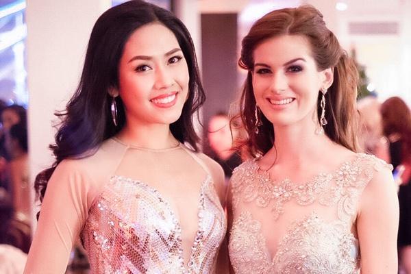Nguyen Thi Loan mac goi cam do dang nguoi dep Miss World hinh anh
