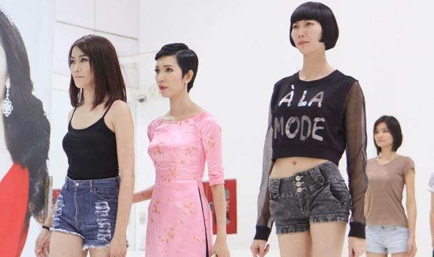 Top 16 Next Top Model tich cuc tap luyen cho chung ket hinh anh