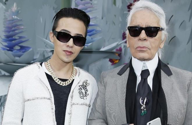 G-Dragon cuc ngau o tuan le thoi trang cao cap Paris hinh anh