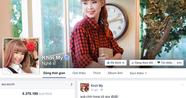 8 sao Viet co luong fan theo doi nhieu nhat tren Facebook hinh anh 2