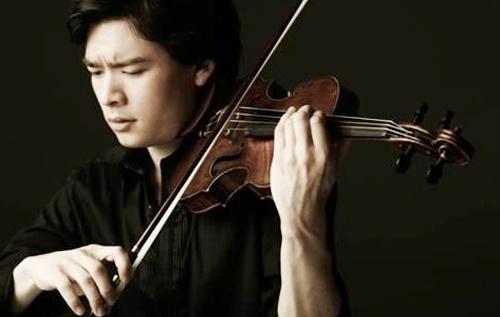 Nghe si violin goc Han sang Viet Nam bieu dien hinh anh