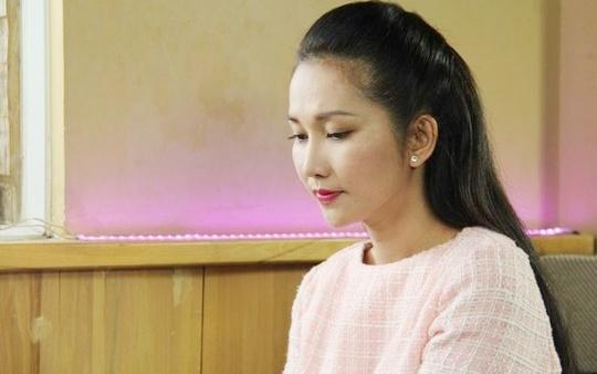 Kim Hien bi dong thai khi dong phim hinh anh