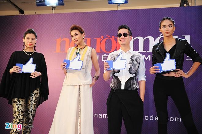 Thanh Hang ngoi xe sang di cham thi Vietnam's Next Top Model hinh anh 4