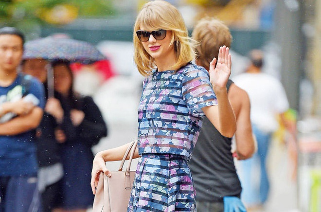 Taylor Swift - nu hoang street style mua he hinh anh