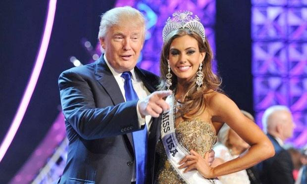 Cuoc thi Hoa hau My lao dao vi Donald Trump hinh anh