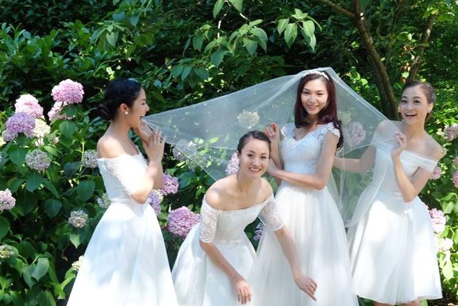 Hoa hau Ngoc Han lam phu dau cho sieu mau Thuy Huong hinh anh 8