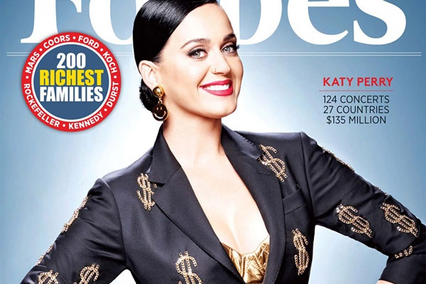 Katy Perry - nghe si kiem nhieu tien nhat nam 2015 hinh anh