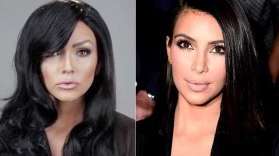 Bien hoa thanh bon my nhan nha Kardashian trong 2 phut hinh anh