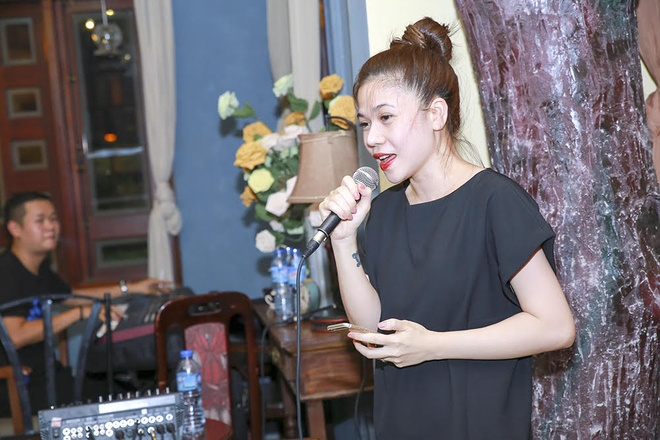 Tung Duong hao hung tap nhac cung danh ca Bao Yen hinh anh 5