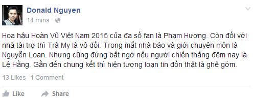 Pham Thi Huong dang quang Hoa hau Hoan vu hinh anh 5