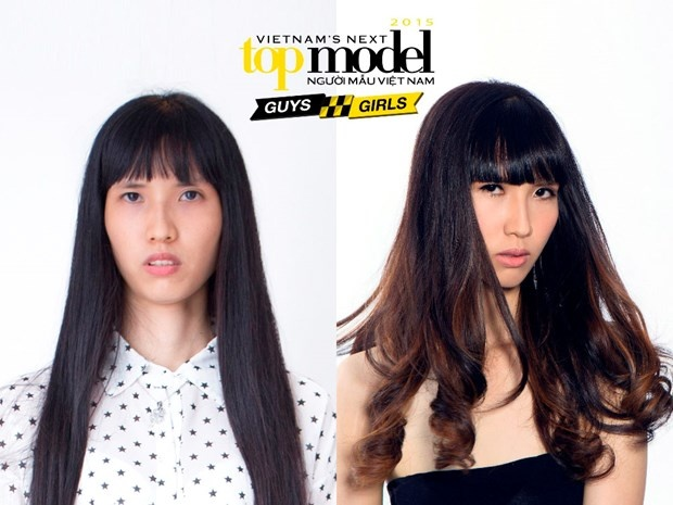 Co gai cao 1,9 m vao chung ket Vietnam's Next Top Model hinh anh 2
