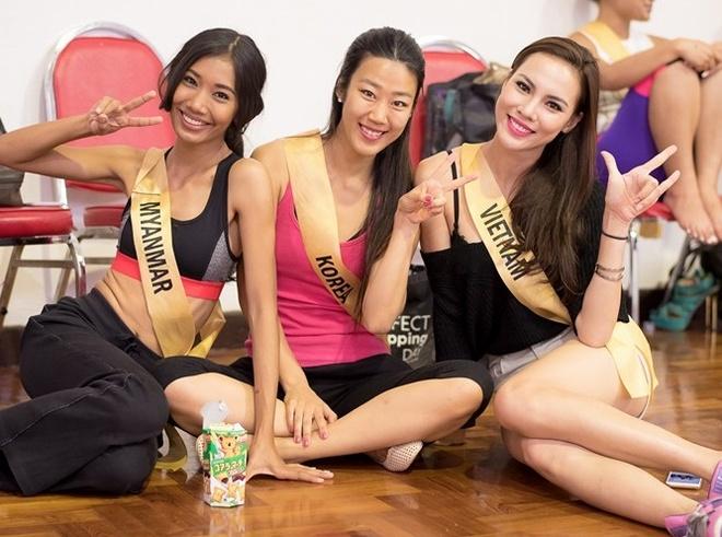 Miss Grand International: Le Quyen duoc binh chon vao top 20 hinh anh