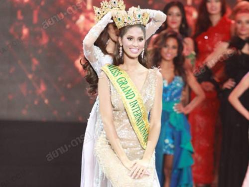 Nguoi dep 20 tuoi dang quang Miss Grand International 2015 hinh anh