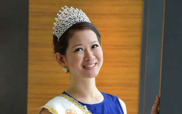 Nhan sac cua dan thi sinh chau A o Miss World 2015 hinh anh 6