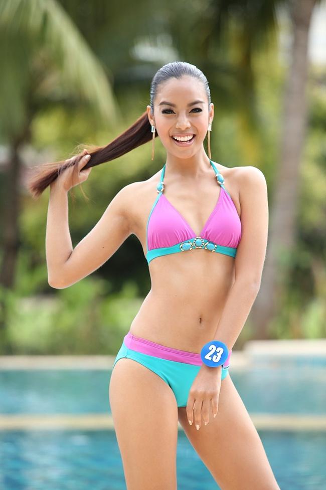 Nhan sac cua dan thi sinh chau A o Miss World 2015 hinh anh 3