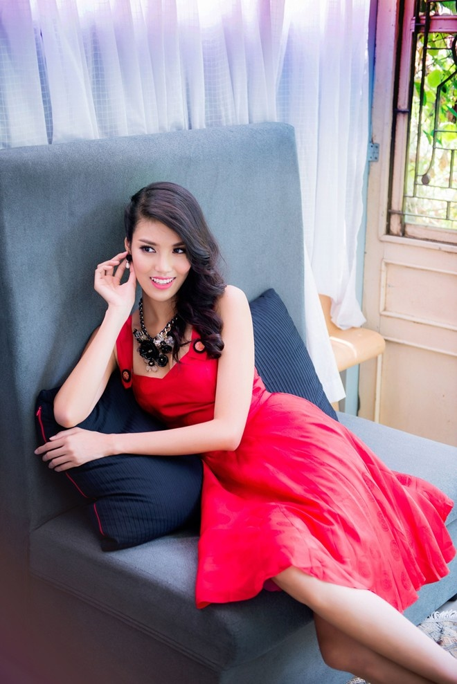Nhan sac cua dan thi sinh chau A o Miss World 2015 hinh anh 1