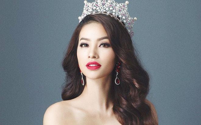 Pham Huong lot top 5 binh chon o Hoa hau Hoan vu 2015 hinh anh