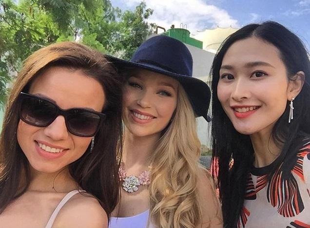 Hoa hau Trung Quoc bi che xau o Miss World 2015 hinh anh 3