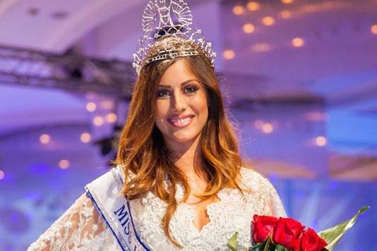Hoa hau Croatia mat co hoi thi Miss Universe vi gay tay hinh anh