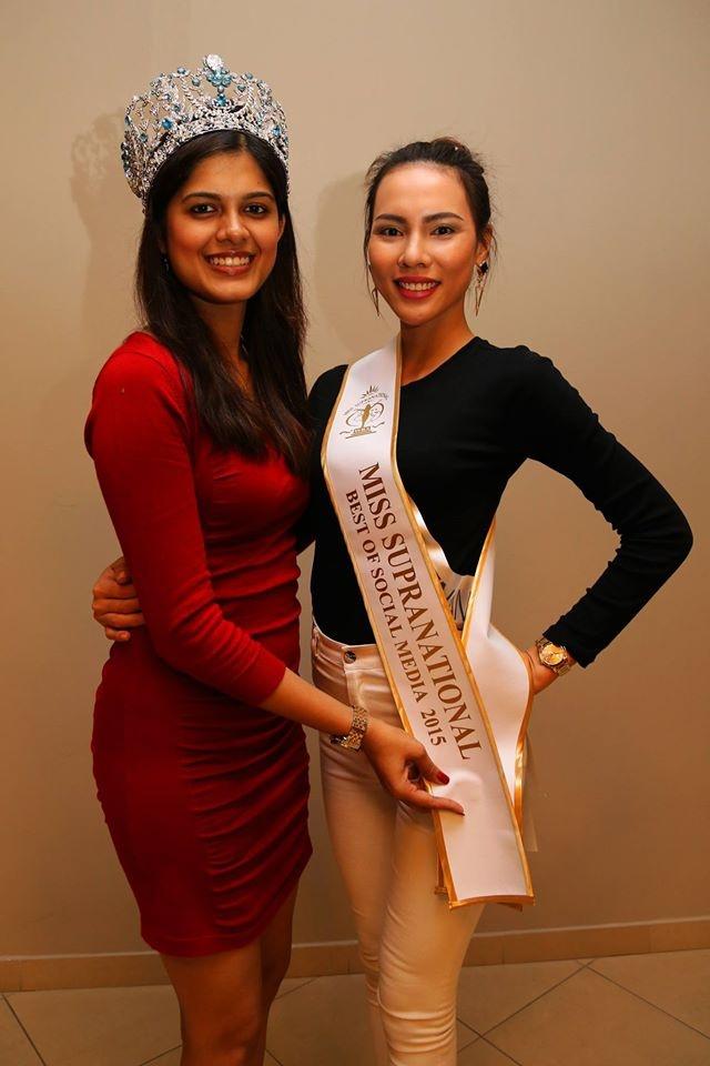 Nguoi dep Paraguay dang quang Hoa hau Sieu quoc gia 2015 hinh anh 2
