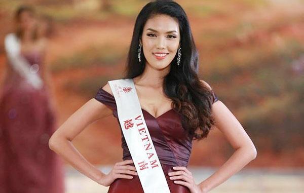 Vay da hoi cua Lan Khue vao top 10 Miss World hinh anh