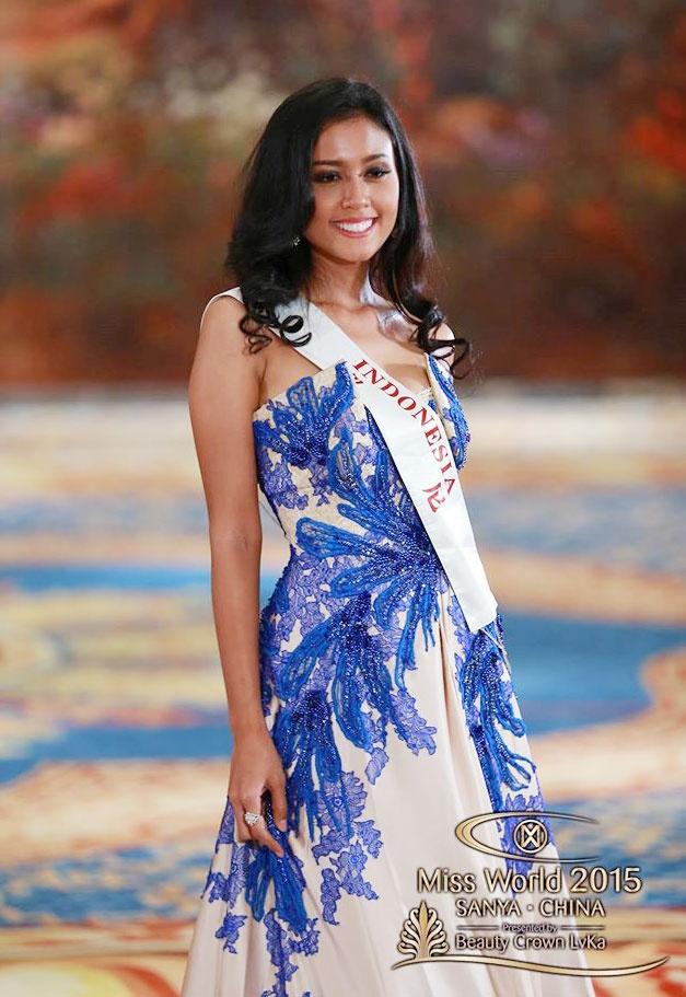 Vay da hoi cua Lan Khue vao top 10 Miss World hinh anh 5