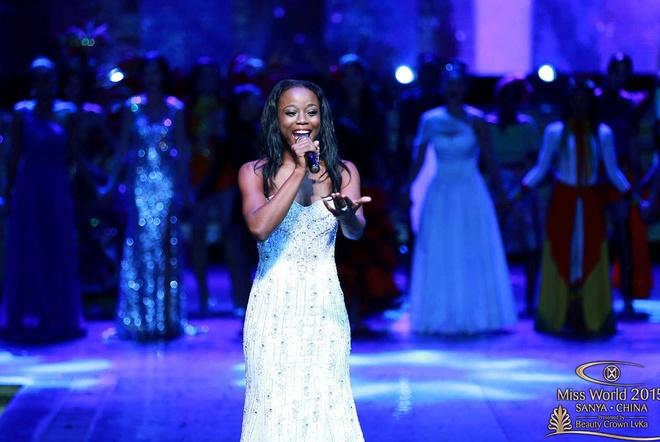 Hoa hau Guyana chien thang phan thi tai nang o Miss World hinh anh 1