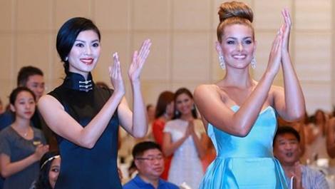 6 hoa hau the gioi hoi tu o Miss World 2015 hinh anh