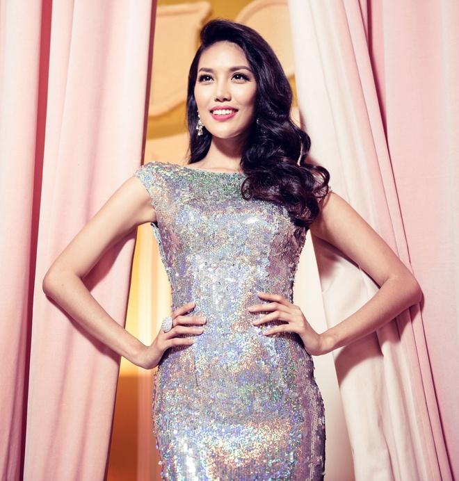 Lan Khue chon dam duoi ca cho chung ket Miss World hinh anh 2