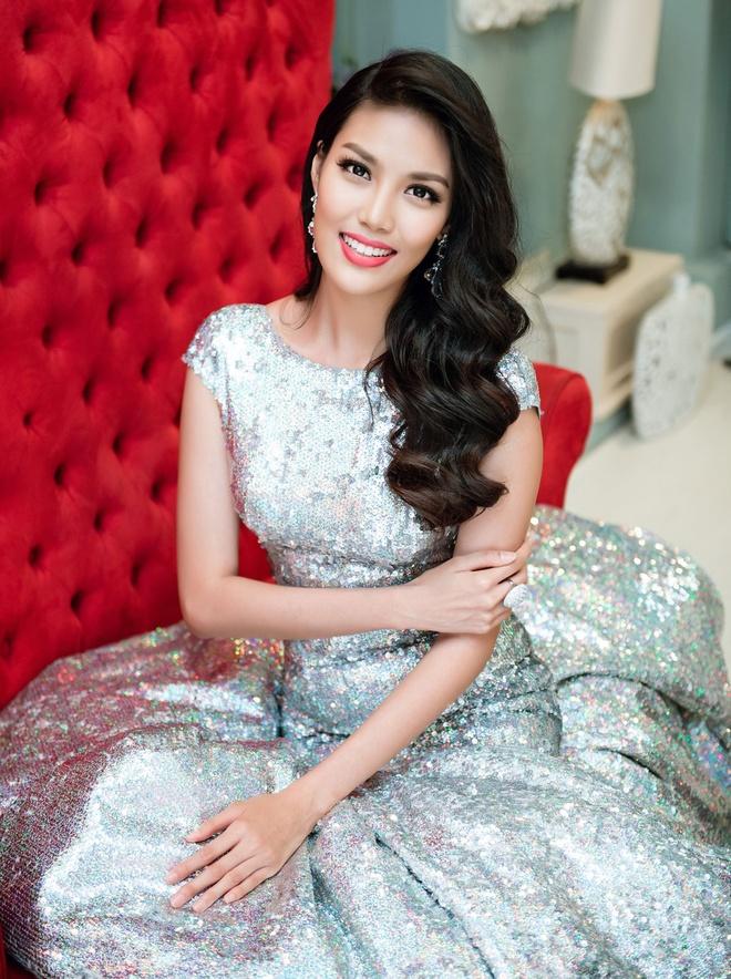 Lan Khue chon dam duoi ca cho chung ket Miss World hinh anh 3