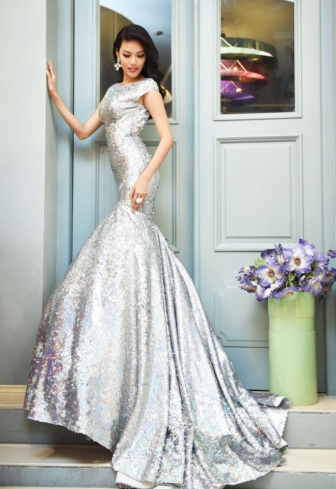 Lan Khue chon dam duoi ca cho chung ket Miss World hinh anh 4