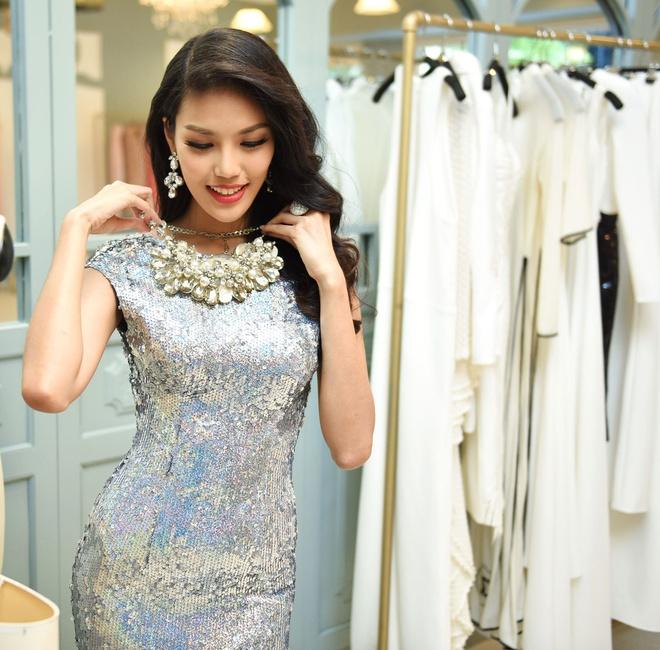 Lan Khue chon dam duoi ca cho chung ket Miss World hinh anh 5