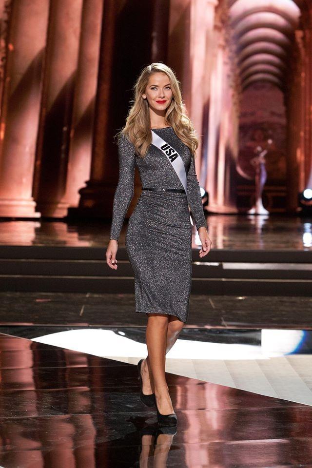 Nguoi dep Miss Universe rang ro tren san khau tong duyet hinh anh 9