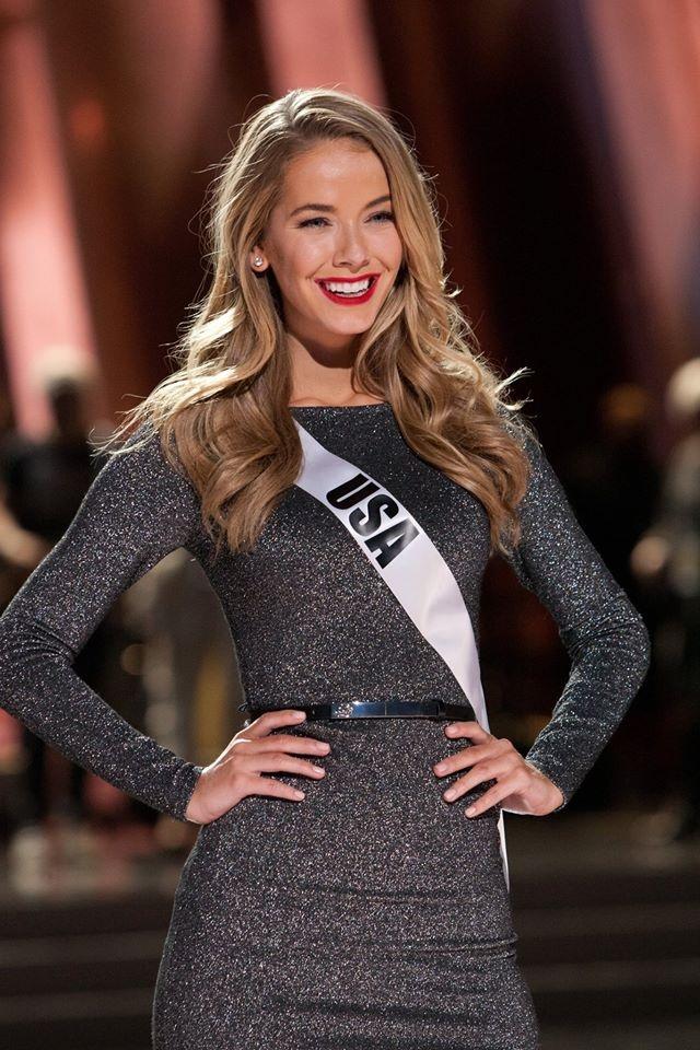 Nguoi dep Miss Universe rang ro tren san khau tong duyet hinh anh 10