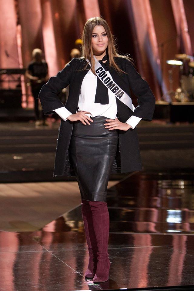 Nguoi dep Miss Universe rang ro tren san khau tong duyet hinh anh 8