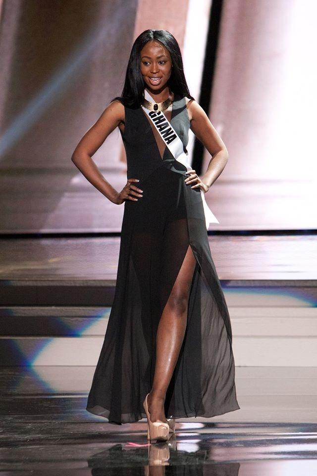 Nguoi dep Miss Universe rang ro tren san khau tong duyet hinh anh 14