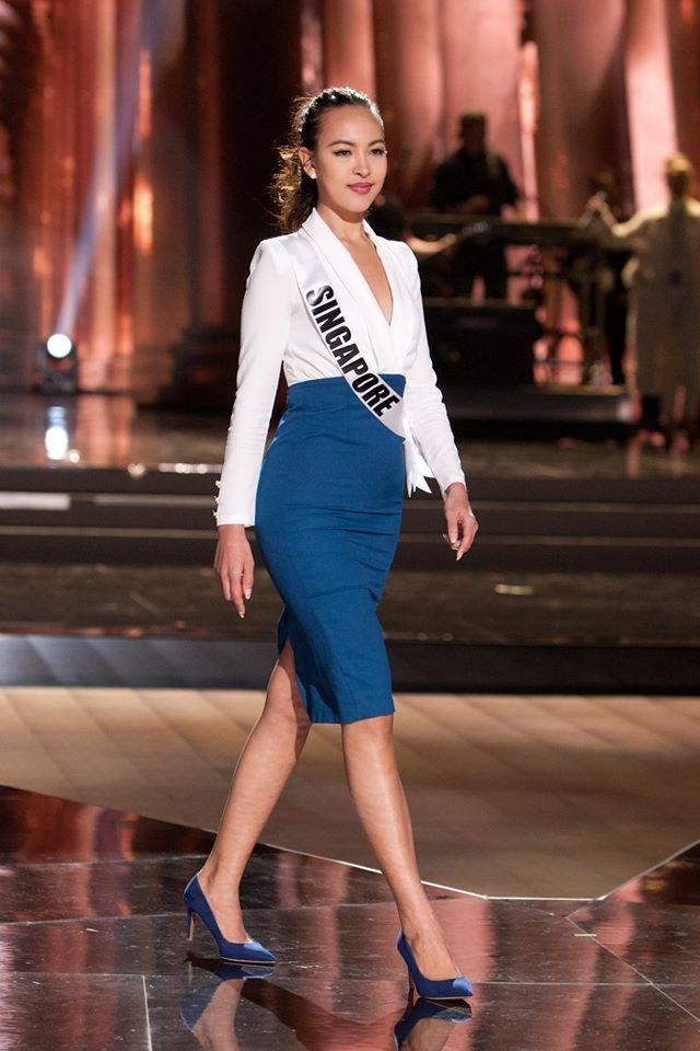 Nguoi dep Miss Universe rang ro tren san khau tong duyet hinh anh 13