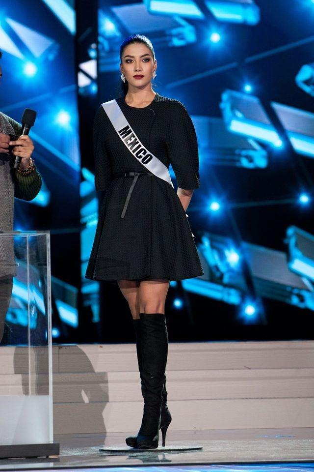Nguoi dep Miss Universe rang ro tren san khau tong duyet hinh anh 12