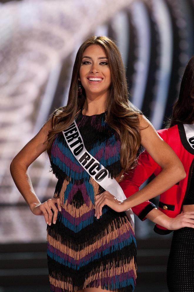 Nguoi dep Miss Universe rang ro tren san khau tong duyet hinh anh 5