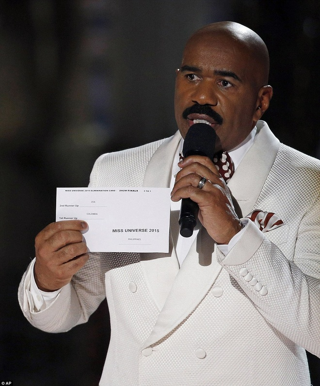 MC Miss Universe doc nham ket qua vi bo do buoi tong duyet? hinh anh 1