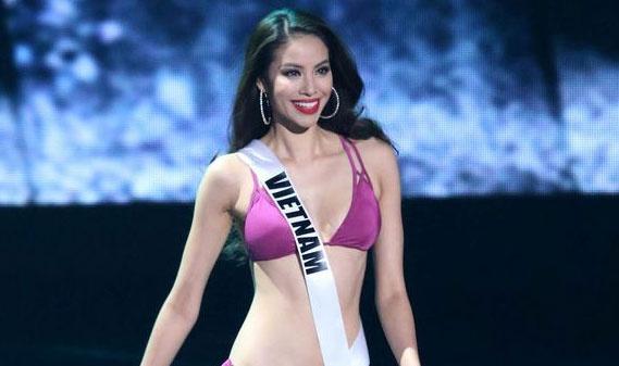 Trang tin Anh nghi Pham Huong bi loai vi Hoa hau Philippines hinh anh