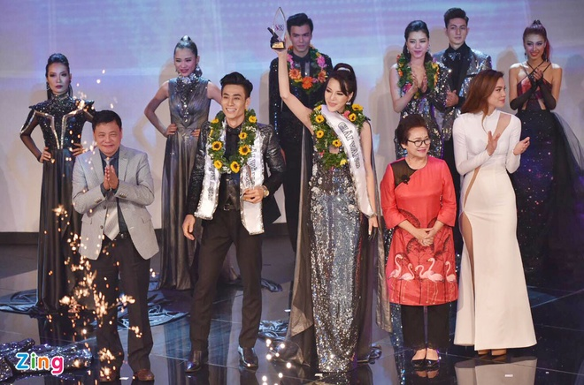 Nam sinh San khau Dien anh dang quang Sieu mau Viet Nam 2015 hinh anh 1